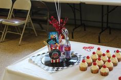 We used ideas from Pinterest for our Gram's 80th Birthday party! Pinterest is fabulous!!