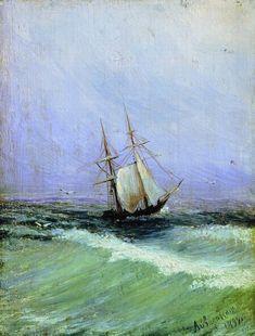 Ivan Aivazovsky - Marina, 1892.