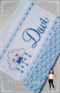 Baby Cross Stitch Patterns, Cute Cross Stitch, Cross Stitch Borders, Cross Stitch Rose, Baby Nursery Decor, Baby Decor, Welcome Baby, Diy And Crafts, Sewing Projects