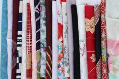 Japanese fabric kimono fabric kimono textile Shibori