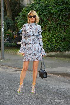 Уличная мода: Модель и блогер Gitta Banko