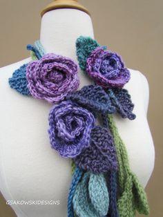 Isabella Lariat Lavender di gsakowskidesigns su Etsy