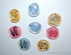 Sew Can Do: One Artsy Mama's Mod Podge Magnets & Jewelry Giveaway!!