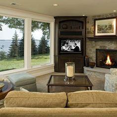 Corner Tv Unit Design Ideas, Pictures, Remodel, and Decor