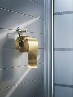 GOLDEN TOILET PAPER!!!