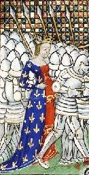 Phillipa of Hainault, wife of King Edward III from Froissart's Chronicles