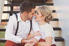 Erika and Tim's Vintage Inspired Engagement Photos