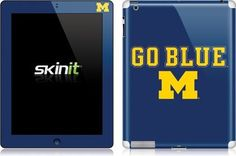 Skinit Michigan Go Blue Vinyl Skin for Apple New iPad (3rd/4th Gen) by Skinit. $23.99. IMPORTANT: Skinit skins, stickers, decals are NOT A CASE. Our skins are VINYL SKINS that allow you to personalize and protect your device with form-fitting skins. Our adhesive backing can be applied and removed with no residue, no mess and no fuss. Skinit skins are engineered specific to each device to take into account buttons, indicator lights, speakers, unique curvature and will not int...