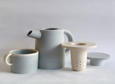hélène morbu, conjunto para chá panama