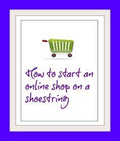 How to start an online shop on a budget #moneymakingtips