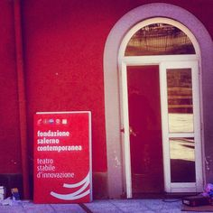 New Theater in #Salerno. Just a door ~