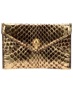 ☠ Alexander McQueen Leather Card Holder ☠