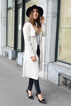 20 ways to wear a trench coat without looking like a spy. 20種完美風衣演繹法大公開! | Popbee - 線上時尚生活雜誌
