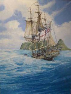 Peter Pan Art, Sailing Ships, Sailing Boat, Pirate Art, Seascape Paintings, Ship Art, Marines, Pandora, Sail Boats
