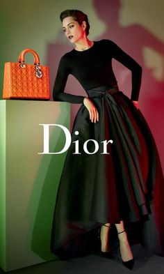 Dior Fashion. Love the top with a simple pretty for winter dress for M......