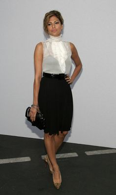Eva Mendes Photos: 2007/8 Chanel Cruise Show Presented By Karl Lagerfeld - Arrivals