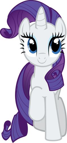 "Rarity Vector - Smile Parade with the Mane 6 from ""A Friend in Deed"""
