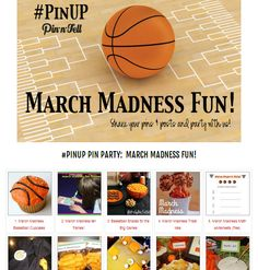 It's a March MADNESS #PinUP Pin Party at @jen @ Pin-n-Tell.com
