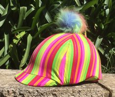 Made from stretch Lycra for the perfect fit on all helmets Helmet Covers, Horse Fly, Helmets, Perfect Fit, Horses, Hard Hats, Helmet, Horse, Words