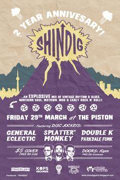 Shindig!: Shindig 2 Year Anniversary Party!
