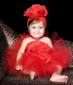 Apple Of My Eye Red Baby Tutu Dress #baby #tutudress #partydress