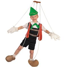$54.95 with FAST & FREE Express delivery* Australia wide! Includes strings, hat, vest, jumpsuit, gloves, shoe-covers. BUY fairy tale & storybook outfits at CostumeCollection.com.au