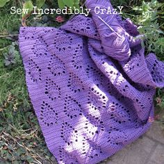 Sew Incredibly Crazy: Potholders and Pineapples Crochet Squares Afghan, Crochet Blanket Patterns, Baby Blanket Crochet, Knitting Patterns Free, Knit Patterns, Crochet Baby, Knit Crochet, Sewing Patterns, Knitting Ideas