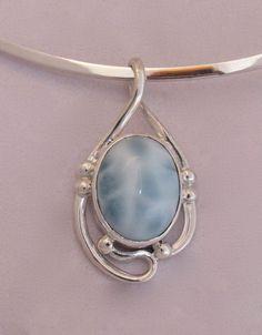 7x9mm Oval Cut Amethyst Ocean Blue Fire Opal Silver Jewelry Collier Pendentif