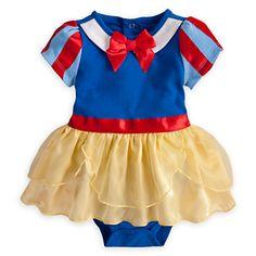 Snow White Cuddly Costume Bodysuit for Baby   Bodysuits   Disney Store