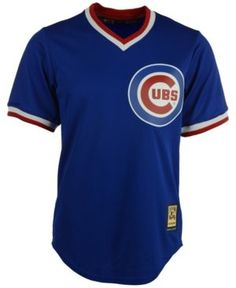 Majestic Men's Ron Santo Chicago Cubs Cooperstown Replica Jersey - Blue