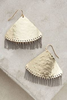Viertel Fringe Earrings
