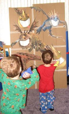 """boy birthday parties Bug, Boo, and Bean: """"How To Train Your Dragon"""" Birthday Party Dragon Birthday Parties, Dragon Party, Birthday Party Games, Dinosaur Birthday, Boy Birthday, Birthday Ideas, Toothless Party, Medieval Party, Knight Party"""