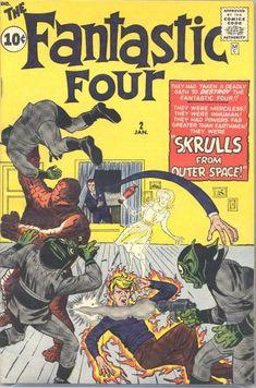 fantastic four 2 comic - Google Search