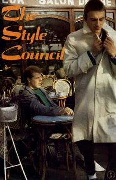 The Style Council - ok seen once. Mod Music, The English Beat, The Style Council, Paul Weller, Look 2018, Concert Posters, Music Posters, The New Wave, Music Images