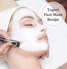 Yogurt Facial Mask