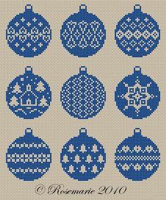(1) Gallery.ru / И ещё шарики от Rosemarie - Новый год и Рождество_1/freebies - Jozephina