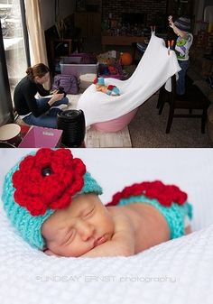 Inspiration For New Born Baby Photography : How to: baby pics
