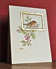 Stampin' Up ideas and supplies from Vicky at Crafting Clare's Paper Moments: Christmas cards