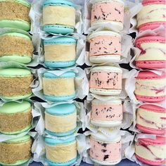 This weekend there is Apple Crumble Horlicks Rose Stracciatella and Raspberry Ripple Macaron Ice Cream Sandwiches! Available from SATURDAYS & SUNDAYS ONLY not by yolkinmacice Rose Ice Cream, Mint Ice Cream, Macaron Ice Cream Sandwich, Rocky Road Ice Cream, Horlicks, Waffle Ice Cream, Raspberry Ripple, London Eats, Party Sandwiches