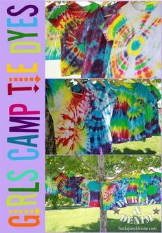 How to make bright crisp tie dyes that lastBurlap & Denim