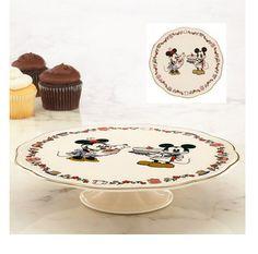 Disney Mickey and Minnie Sweet Treats Cake Stand by Lenox
