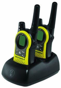Motorola Range FRS/GMRS Two-Way Radio (Pair) - Up to range- iVOX hands-free communication- 11 NOAA weather channels with Radios, Call Tone, Emergency Preparedness Plan, Survival Kit, Radio Online, Keypad Lock, Channel, Family Emergency