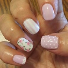 Spring. Summer. Cake pop shellac color.