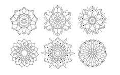 geometric + flowers