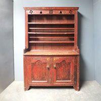 Rare Original Painted Pine Galway Dresser