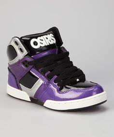 Take a look at this Purple & Silver NYC 83 Sneaker by Osiris Shoes on #zulily today!