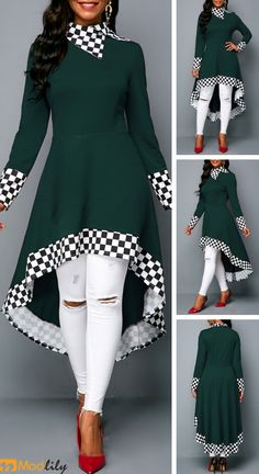 trendy Outerwear Coats with competitive price African Fashion Dresses, African Dress, Hijab Fashion, Fashion Outfits, Womens Fashion, Mode Outfits, Chic Outfits, Trendy Dresses, Casual Dresses
