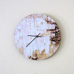 Rustic  Wall Clock, Decor and Housewares, Wood,\ Home and Living, Home Decor, Unique Gift, Wall Clocks