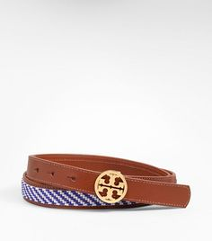 Skinny Seed Bead Belt from Tory Burch at 150 WORTH.