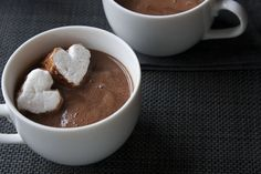 Valentine's Day - Sipping Chocolate with Your Sweetie Valentines Day, Chocolate, Tableware, Valentine's Day Diy, Dinnerware, Tablewares, Chocolates, Dishes, Place Settings